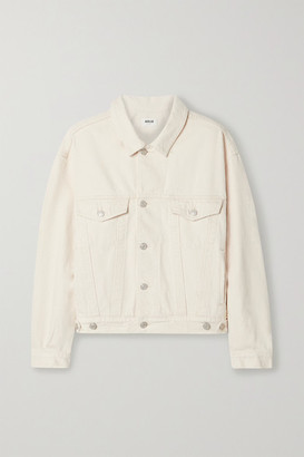 AGOLDE Charli Oversized Denim Jacket - Neutral