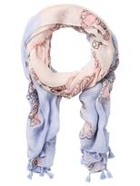 Jeanswest Wallace Scarf-Dusky Blue Multi-00