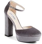 Steve Madden 'Darla' Ankle Strap Platform Pump (Women)