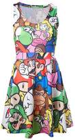 Nintendo Official Womens Super Mario Bros and Friends Fashion Dress - Cosplay Ladies