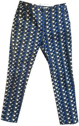 Petit Bateau Multicolour Cotton Trousers for Women