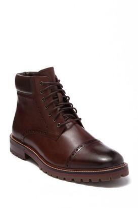 Warfield & Grand Portola Leather Brogued Boot
