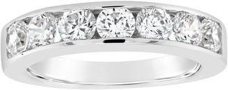 Affinity Diamond Jewelry Affinity 14K Gold Channel Set 1.35 cttw Diamond Ring