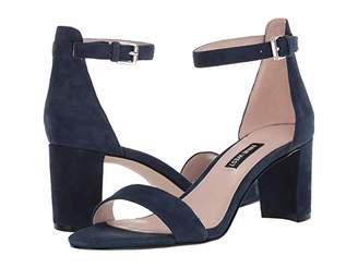 Nine West Pruce Block Heel Sandal (Modern Pink) High Heels