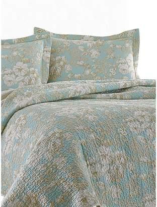 Laura Ashley Brompton Cotton 3-Piece Floral Quilt Set