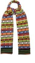 Etro Striped wool-blend knit scarf