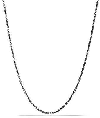 David Yurman Small Box Chain Necklace, 26""