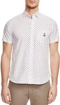 Psycho Bunny Leaf Print Regular Fit Button Down Shirt - 100% Bloomingdale's Exclusive