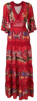 Cecilia Prado printed Mercia long dress