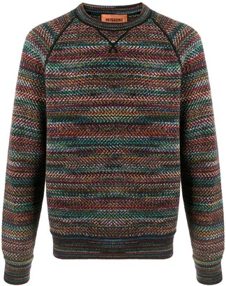 Missoni Intarsia-Knit Jumper
