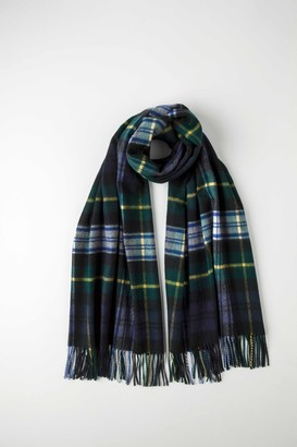 Johnstons of Elgin Dress Gordon Tartan Classic Cashmere Stole
