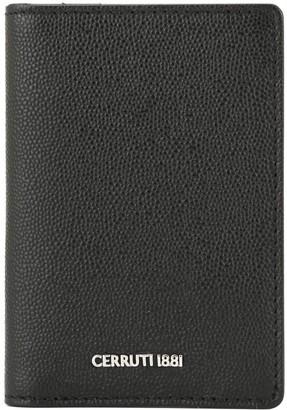 Cerruti Black Textured Cardholder