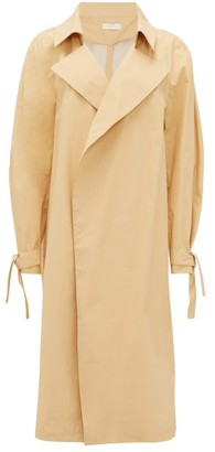 Carl Kapp - Montagne Double-breasted Cotton Trench Coat - Camel