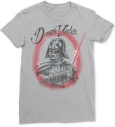 Mighty Fine Men's Star Wars Darth Vader Lightsaber Graphic-Print T-Shirt