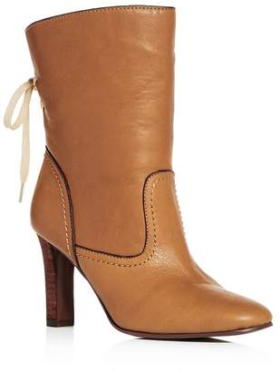 See by Chloe Women's Lara Leather High-Heel Boots