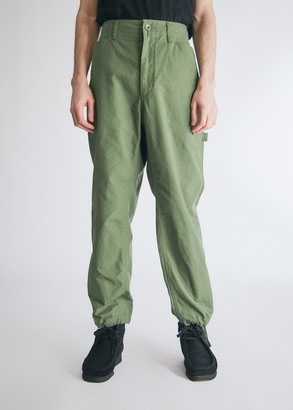 Engineered Garments Men's Painter Pant in Olive, Size Small | 100% Cotton
