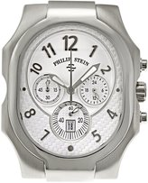 Philip Stein Teslar Men's 23-NW Classic Chronograph Natural Frequency Technology Chip Dial Watch