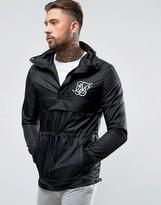 SikSilk Overhead Jacket In Black