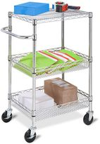 Honey-Can-Do 3-Tier Urban Utility Cart in Chrome