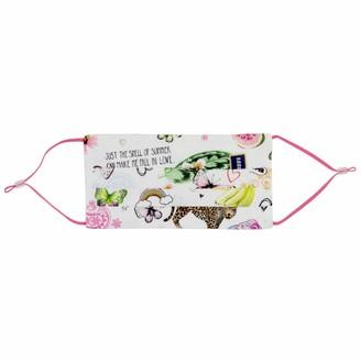 Codello Women's Leichte Sommermaske mit Tropical-Motiv Light Summer Mask Motif
