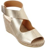 Bettye Muller Mobile Leather Wedge Espadrille.