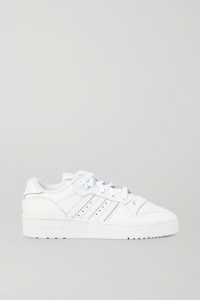 adidas Rivalry Low Leather Sneakers - White