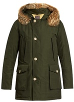 Woolrich John Rich & Bros. Arctic Fur-trimmed Hooded Down Parka