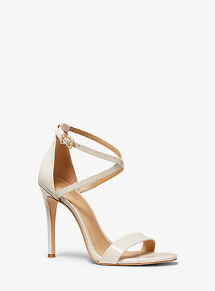 Michael Kors Antonia Patent Leather Sandal