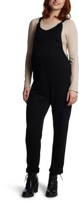Everly Grey Natalie Maternity/Nursing Knit Overalls