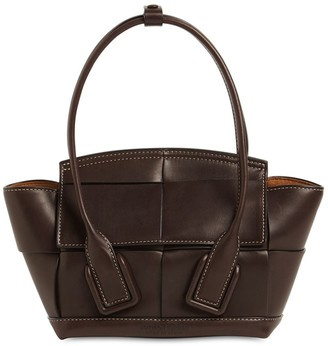 Bottega Veneta Arco 29 Smooth Leather Top Handle Bag