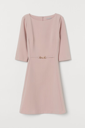 H&M Dress with Metal Buckle