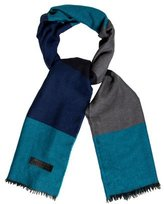Burberry Colorblock Cashmere Scarf w/ Tags