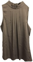 Banana Republic Grey Silk Top for Women