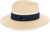 Maison Michel Henrietta hemp-straw hat