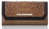 Brahmin Soft Checkbook Wallet Toasted Almond Bengal