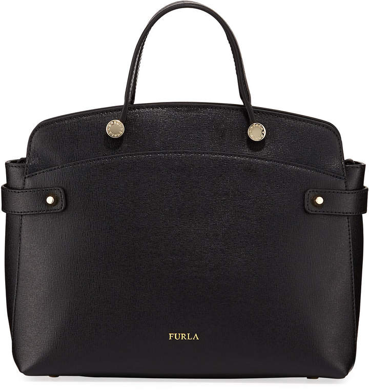 Furla Agata Medium Saffiano Leather Tote Bag