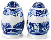 Spode Blue Italian Salt and Pepper Shaker Set