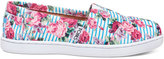 Toms Floral Stripes Youth Classics