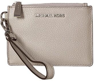 MICHAEL Michael Kors Small Coin Purse (Pearl Grey) Coin Purse