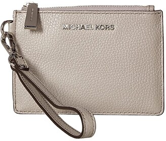 MICHAEL Michael Kors Small Coin Purse (Pearl Grey) Coin Purse