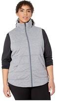 Marmot Plus Size Visita Insulated Vest (Steel Onyx Heather) Women's Clothing