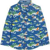 Cath Kidston Hippos And Friends Boys Long Sleeve Shirt