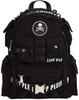 Philipp Plein Tech Canvas Backpack