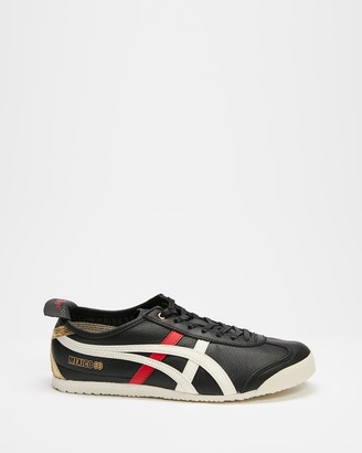 Onitsuka Tiger by Asics Black Low-Tops - Mexico 66 - Unisex - Size 7 at The Iconic