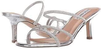 Steve Madden Loft-R Heeled Sandal (Rhinestone) Women's Shoes