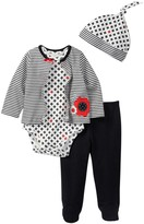 Offspring 4-Piece Mod Floral Set (Baby Girls)