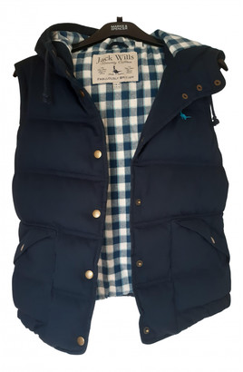 Jack Wills Navy Cotton Jacket for Women