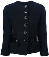 Dinou Cropped buttoned jacket