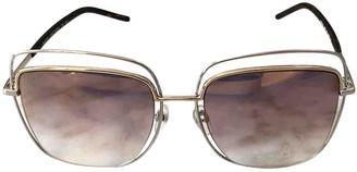 Marc Jacobs Pink Metal Sunglasses