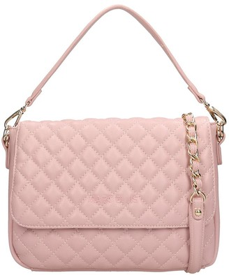 Dakota Marc Ellis Shoulder Bag In Powder Leather